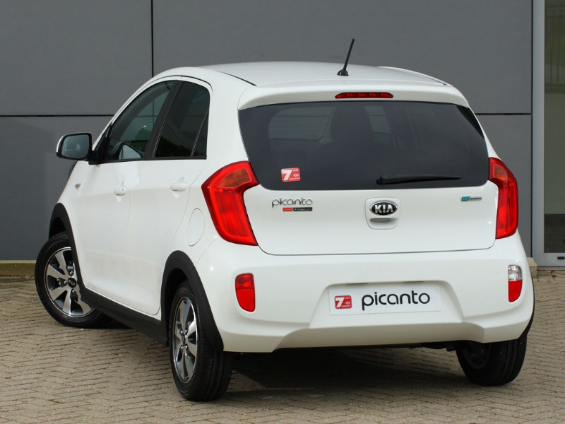 Kia Picanto R-Cross wit 2014 limited edition 01