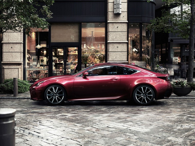 Lexus RC Radical Coupe rood 2015 13