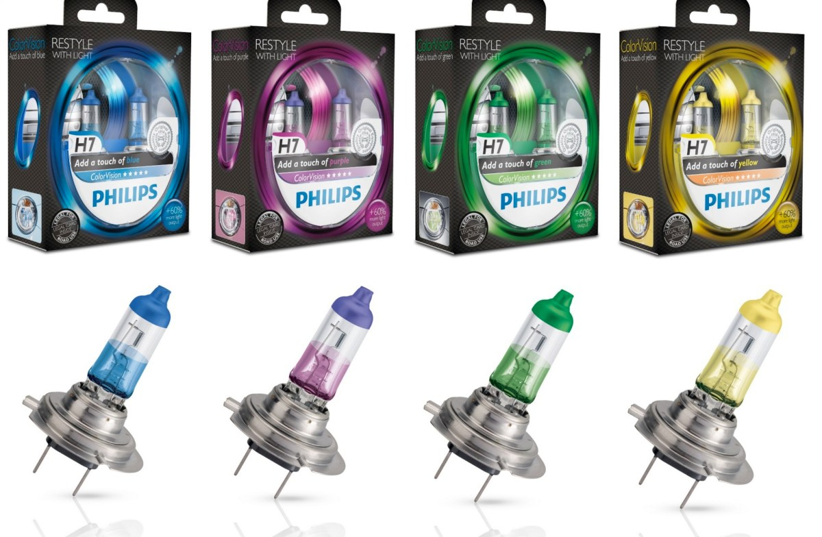 Philips Light Colorvision H7 H4 Fiat 500 03