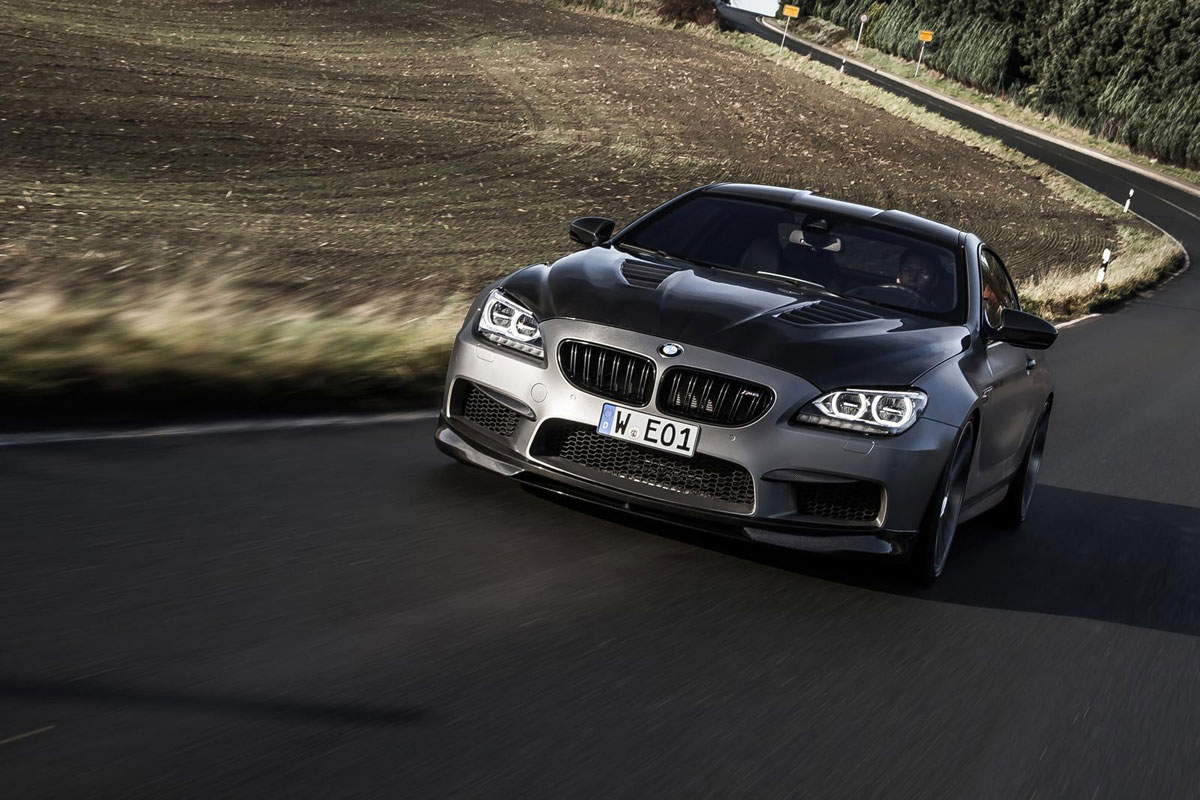 Manhart MH6 700 BMW M6 6-serie coupe 01