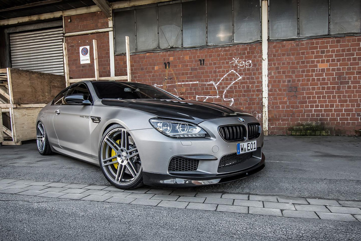 Manhart MH6 700 BMW M6 6-serie coupe 03