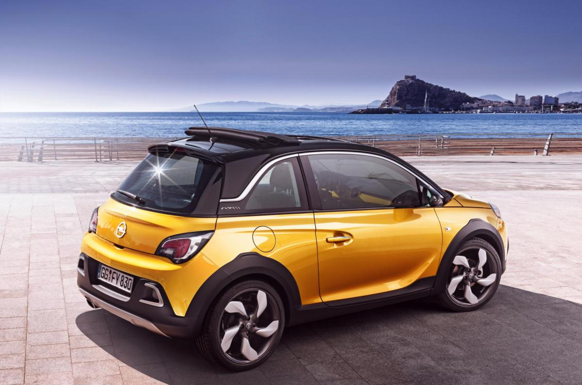 Opel Adam Rocks wit geel 2015 EDIT 1.0 Turbo 03
