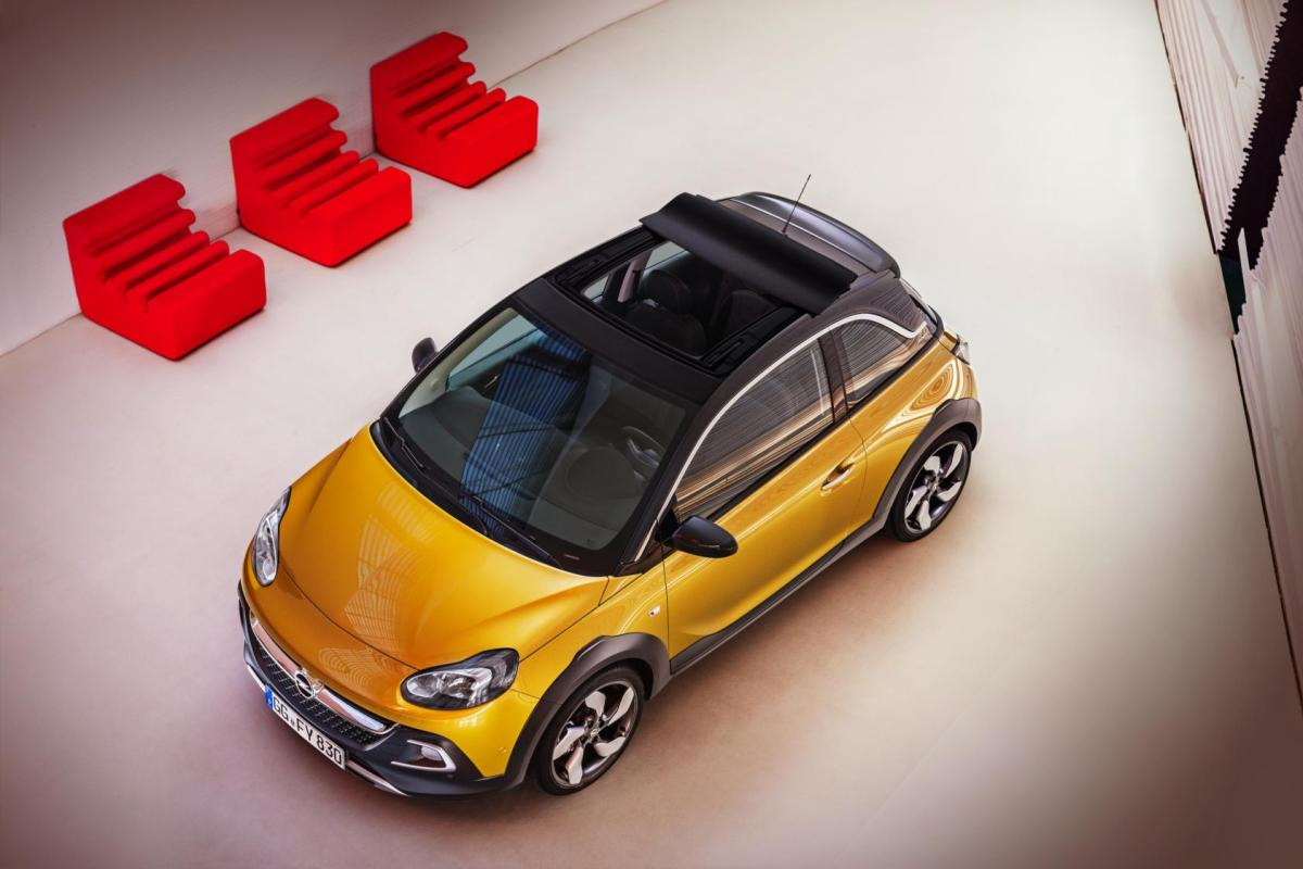 Opel Adam Rocks wit geel 2015 EDIT 1.0 Turbo 14