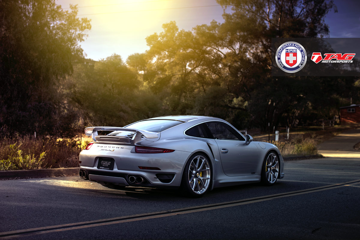Porsche 911 Turbo S with HRE P101CL in Brushed Dark Clear by TAG Motorsports - Photo by Linhberg (1)