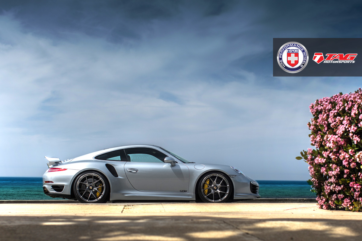 Porsche 911 Turbo S with HRE P101CL in Brushed Dark Clear by TAG Motorsports - Photo by Linhberg (29)