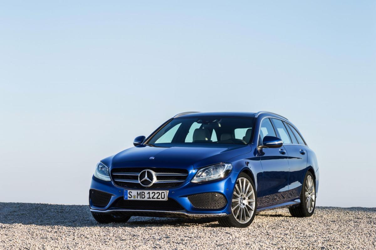 Mercedes C-klasse Estate S205 4-Matic BlueTec 2015 18