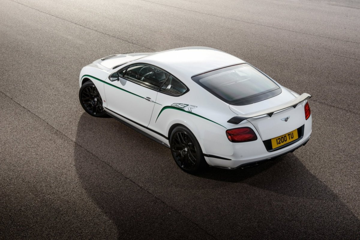 Bentley Continental GT3-R wit groen 2015 03