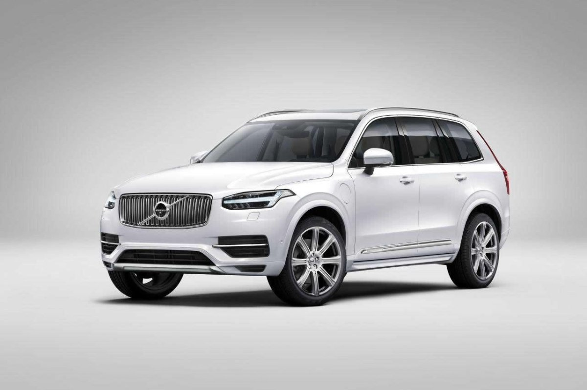Volvo XC 90 First Edition D5 T6 AWD 1927 2015 brons zwart wit bruin 09