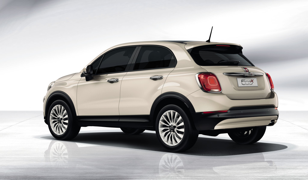 Fiat 500X Opening Edition creme wit 2015 03