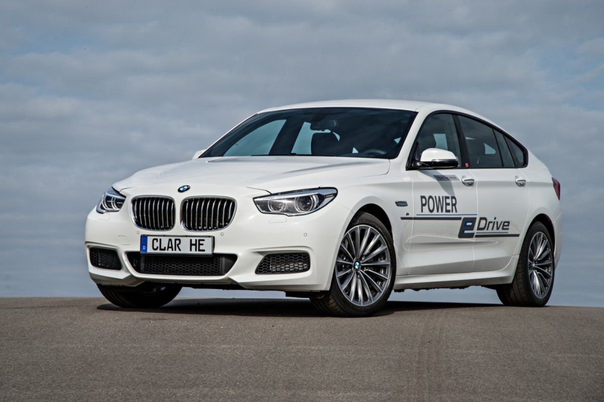 BMW 5-serie GT e-drive Hybride plug-in concept wit 2014 02