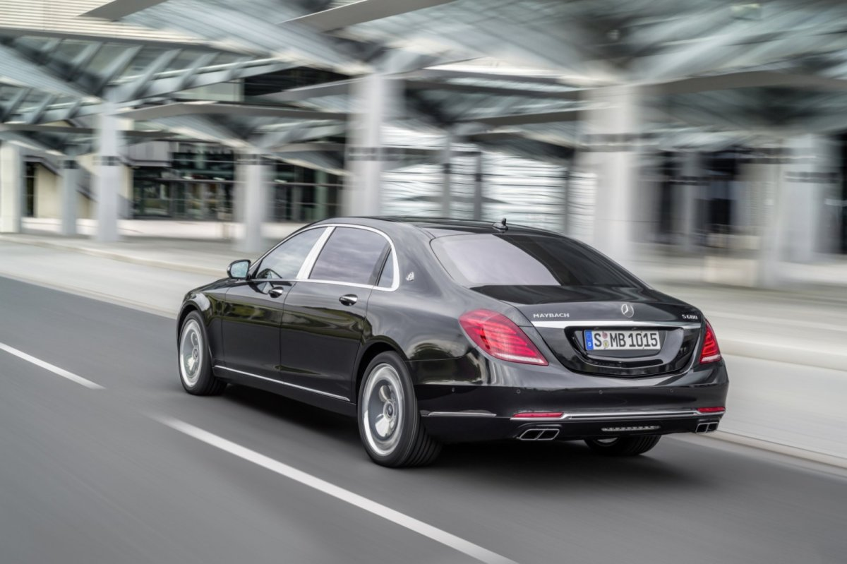 Mercedes Benz Maybach S-klasse S600 V12 Executive Business 07