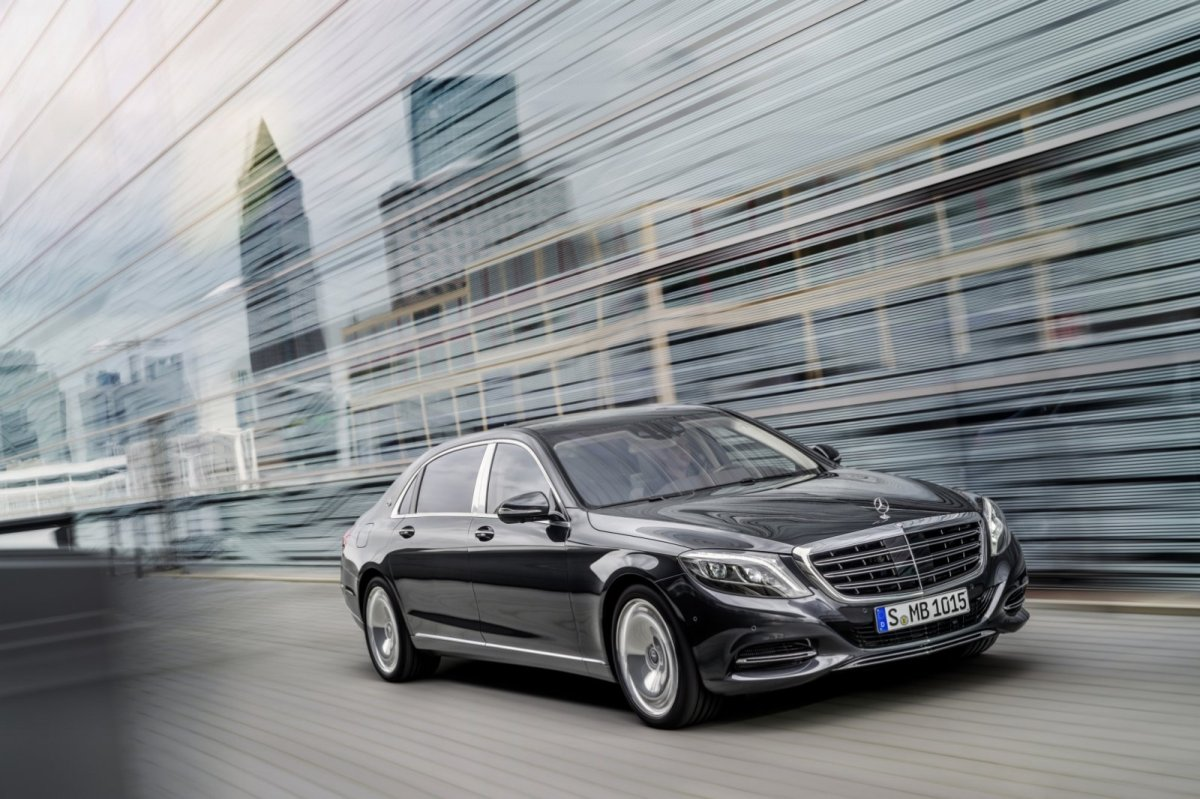 Mercedes Benz Maybach S-klasse S600 V12 Executive Business 10
