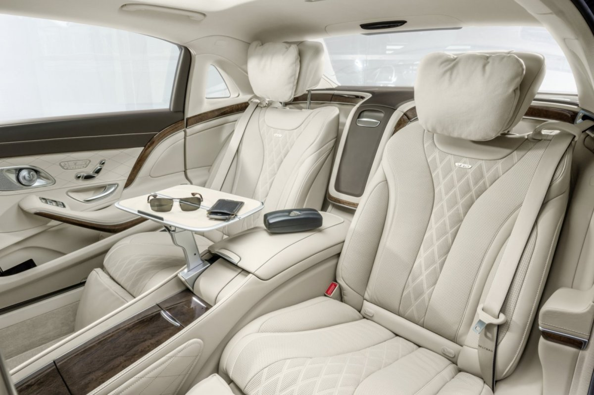 Mercedes Benz Maybach S-klasse S600 V12 Executive Business 19