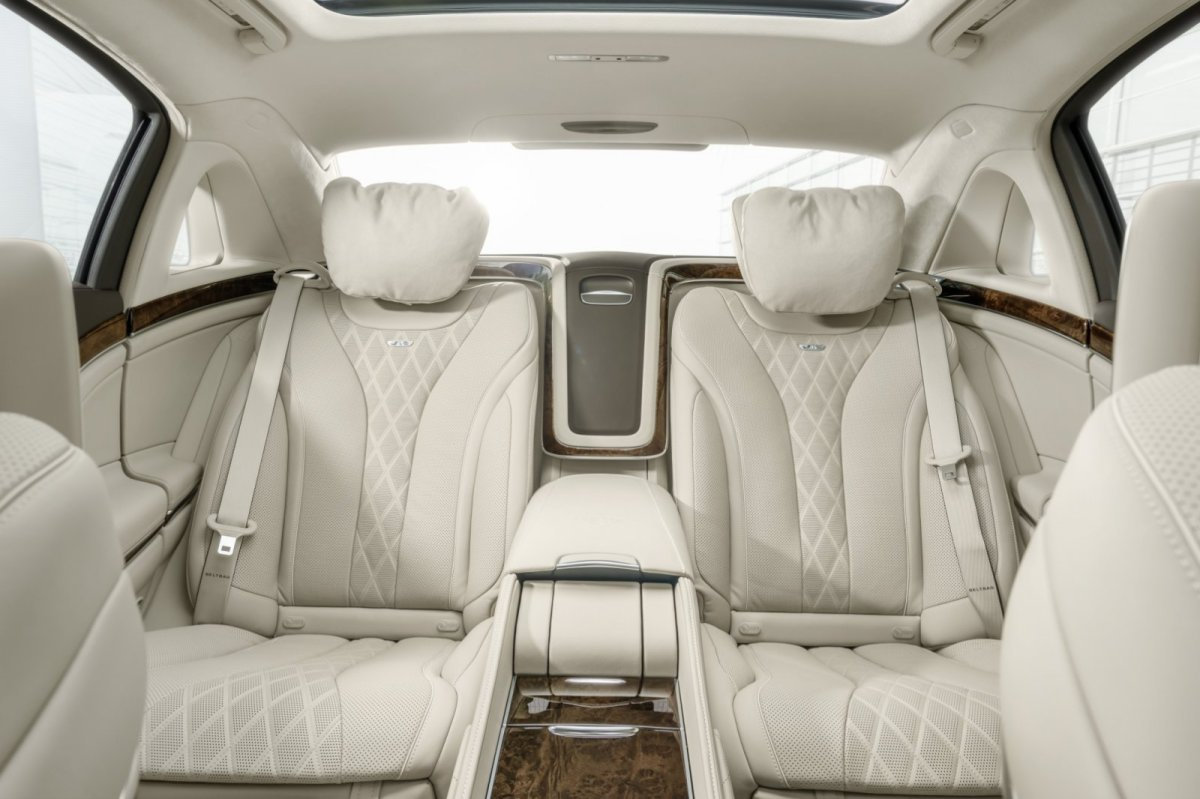 Mercedes Benz Maybach S-klasse S600 V12 Executive Business 24