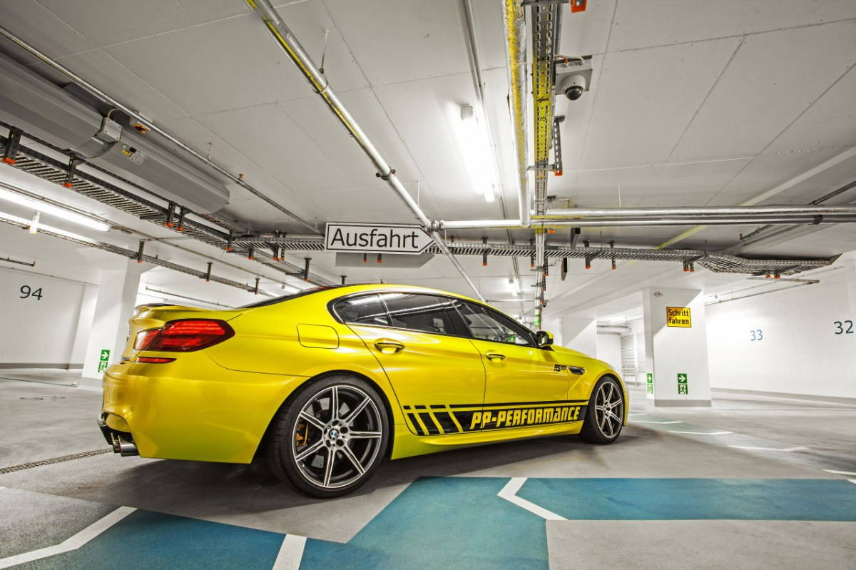 PP-Performance BMW M6 Gran Coupe Electric Lime geel 2014 05