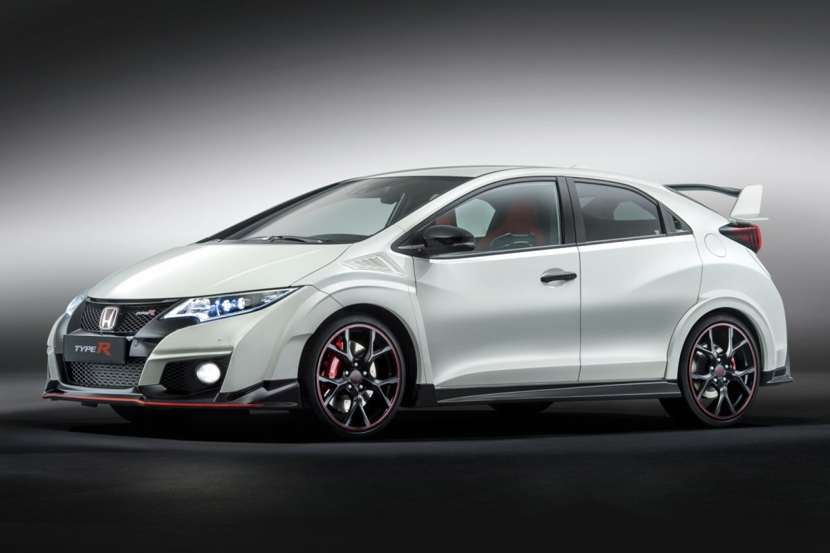 Honda Civic Type R wit ring record nordschleife voorwielaandrijving  2015 03
