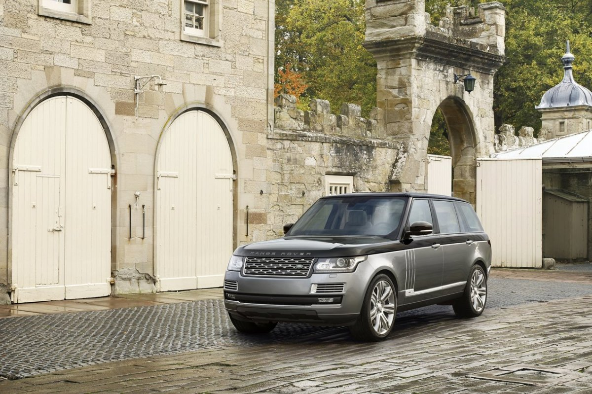 Land Range Rover SVAutobiography Special Vehicle Operations 2016 06