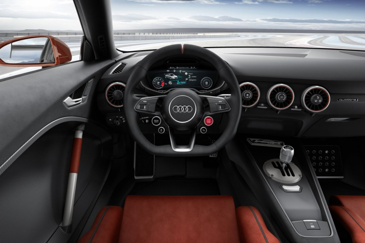 Audi TT Clubsport Quattro Turbo Technology Concept 08