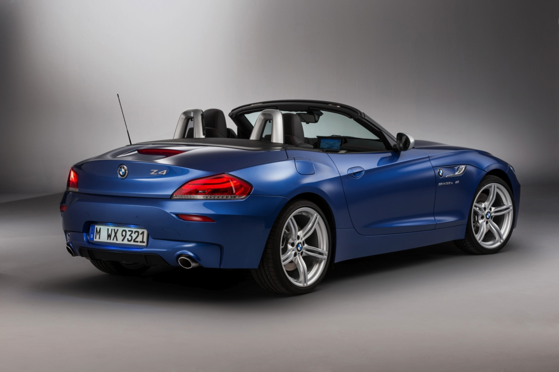 BMW Z4 Roadster Estoril blauw M-pakket 2016 01