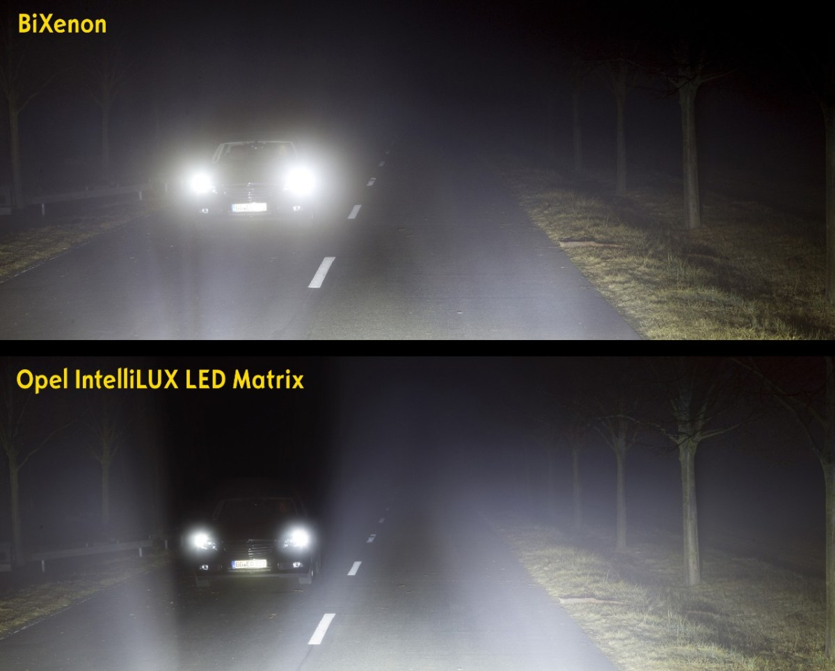Opel licht technologie IntelliLux Matrix LED Astra 01
