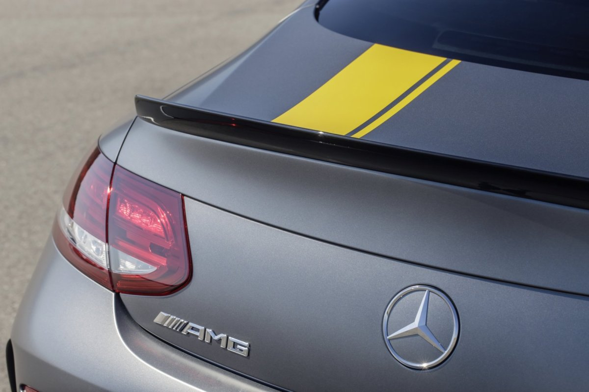 Mercedes C63 AMG Coupe Edition 1 2016 03