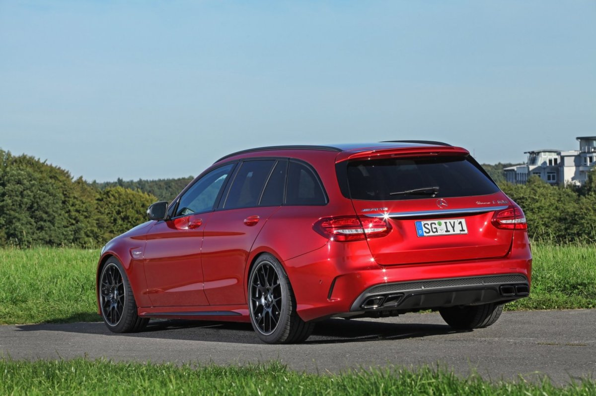 Wimmer Mercedes C63 S AMG rood 2015 09