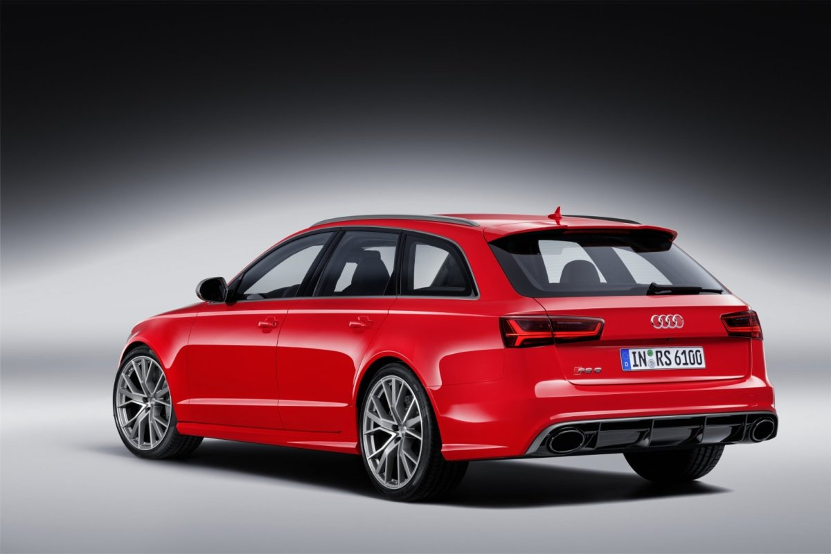 Audi RS6 RS7 Avant Sportback Performance Label Quattro 2016 10