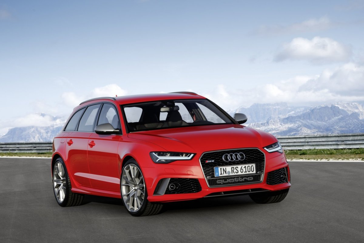 Audi RS6 RS7 Avant Sportback Performance Label Quattro 2016 12