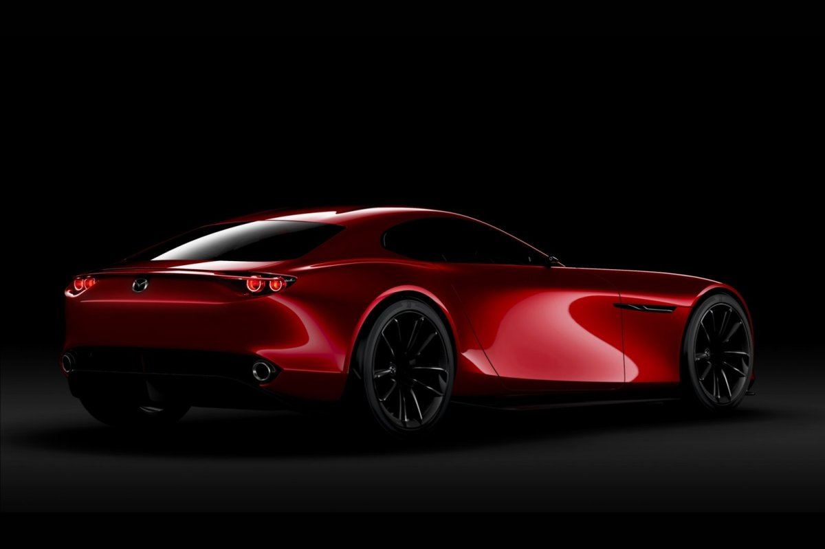 Mazda RX-Vision Wankelmotor Rood Concept Tokio 2015 04