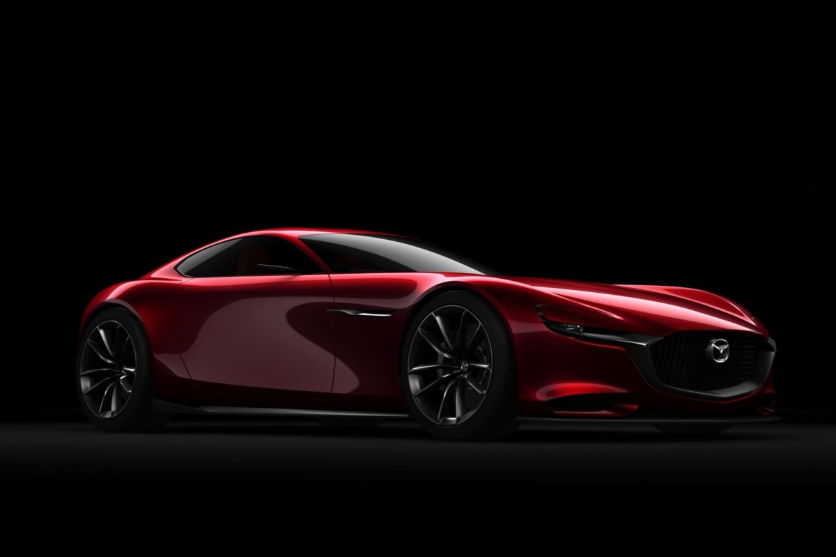 Mazda RX-Vision Wankelmotor Rood Concept Tokio 2015 05