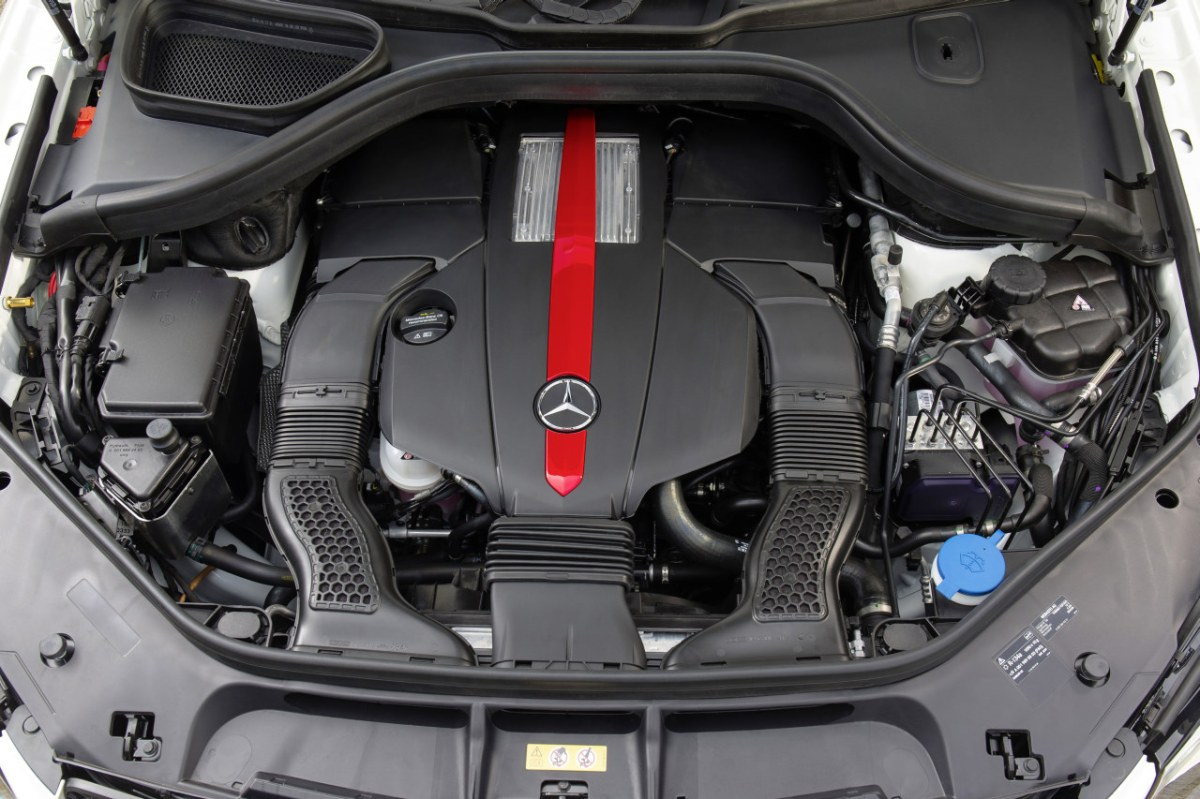 Mercedes GLE450 AMG Sport 4-Matic wit SUV 2016 04