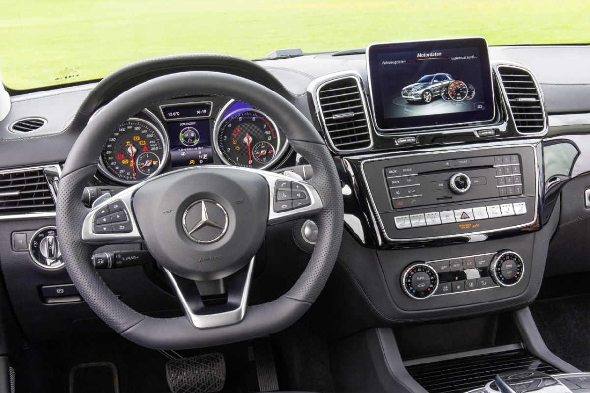 Mercedes GLE450 AMG Sport 4-Matic wit SUV 2016 06