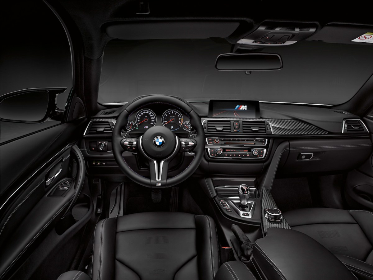 BMW M3 M4 Competition Package M-Performance 2016 06