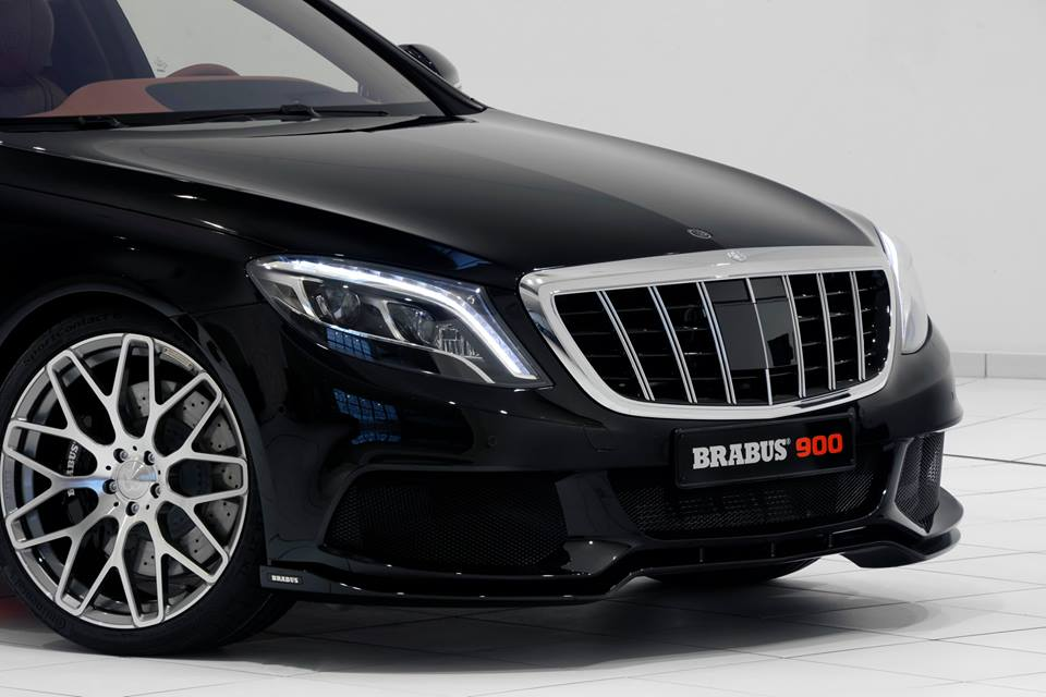 Brabus Mercedes Maybach Rocket 900 facelift zwart 2016 17