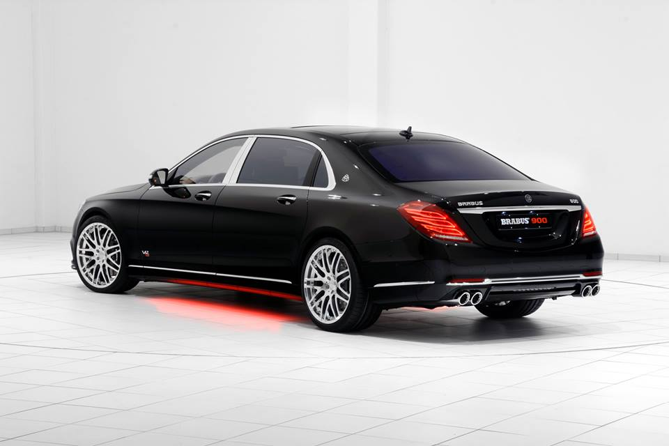 Brabus Mercedes Maybach Rocket 900 facelift zwart 2016 19