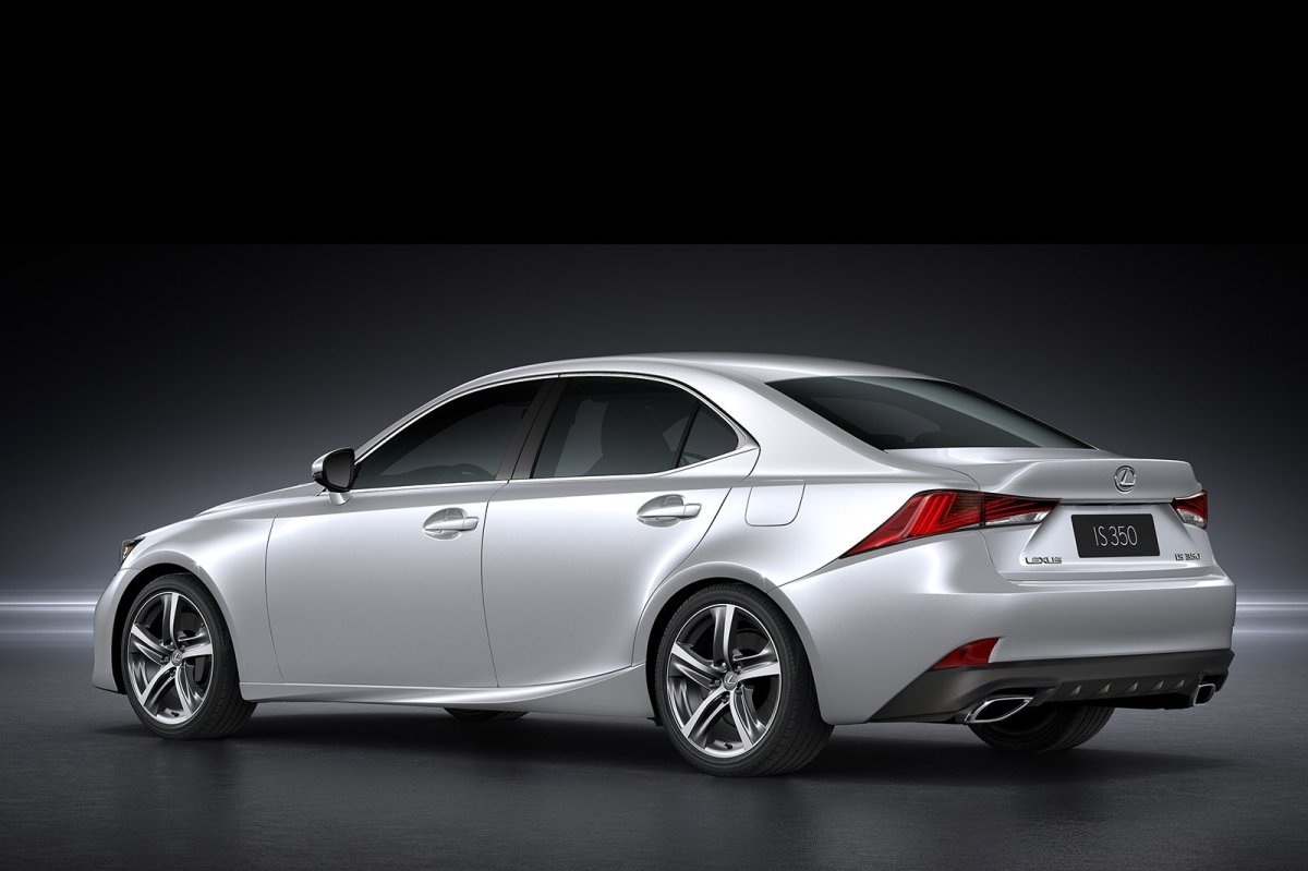 Lexus IS facelift 2017 15