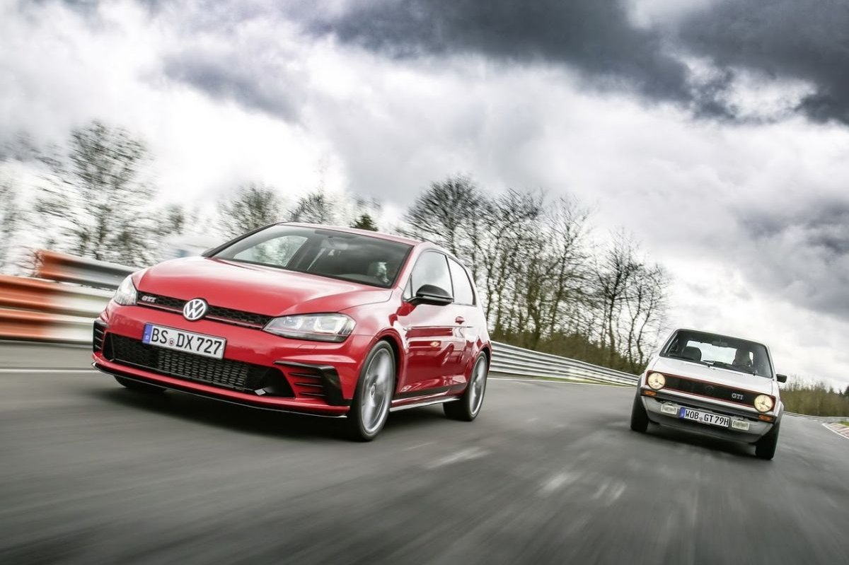 Volkswagen Golf GTI Clubsport S Nuerburgring record 2016 2017 10