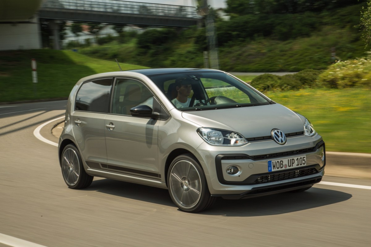 Volkswagen Up take move high private lease 2017 11