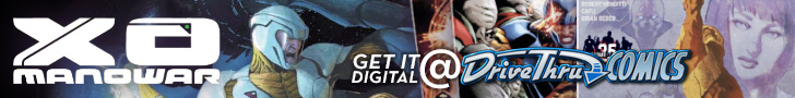 X-O Manowar - Available Now @ DriveThruComics.com