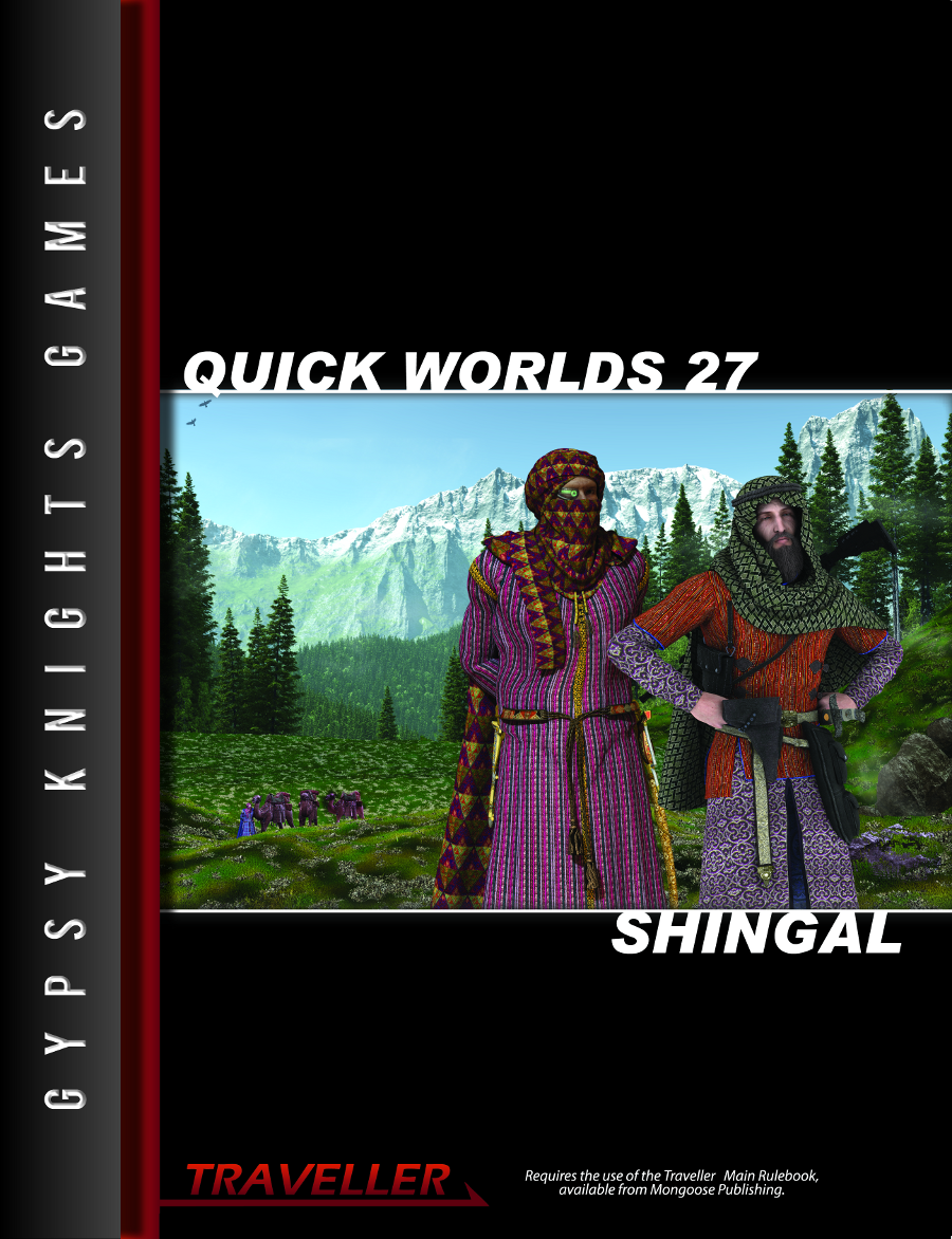 Quick Worlds 27 Shingal