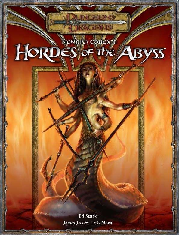 Fiendish Codex I Hordes Of The Abyss 3 5 Wizards Of