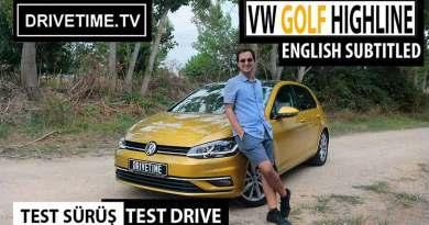Volkswagen Golf Highline 2017 1.4 TSI DSG Test Sürüş Videosu