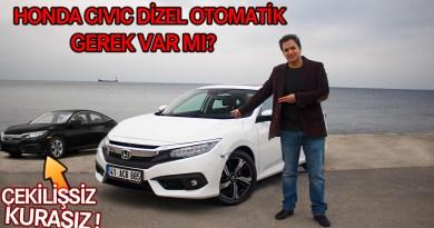 Honda Civic Dizel Otomatik 2019 Test Sürüşü / Gerek Var mı?