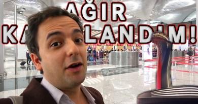 Ağır Kazıklandım! – İstanbul Yeni Havalimanı VLOG#1