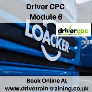 Driver CPC Module 6 Sat 2 March 2019