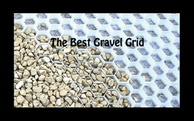A gravel grid can be perfect for a resin bound driveway too
