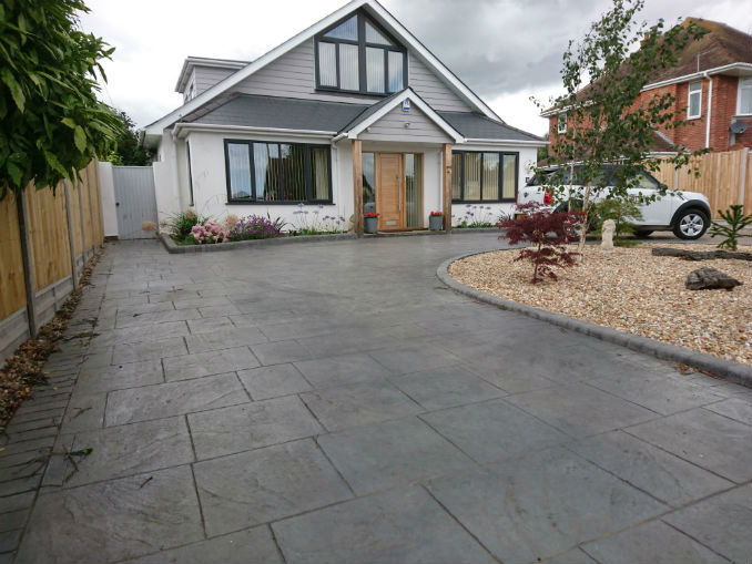 We don't think Patterned Concrete Drives are Losing Their Appeal, do You?