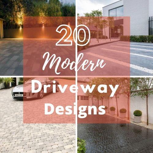 Modern Driveways Designs