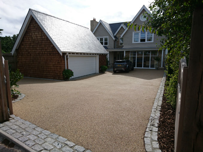 resin driveways or block paving