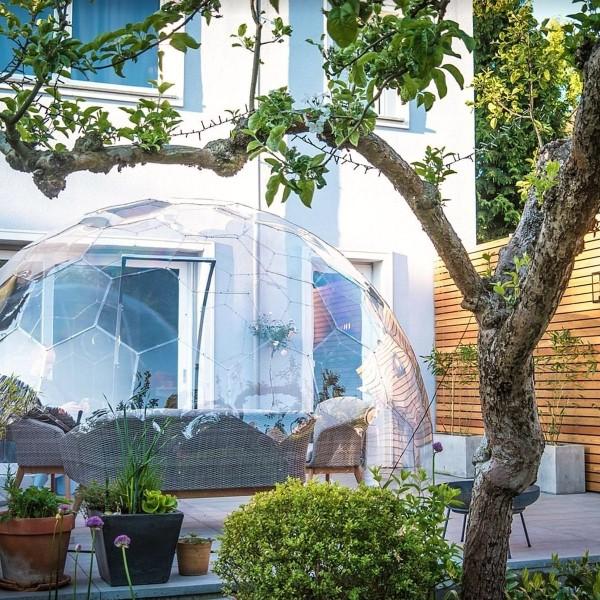 hypedome patio garden